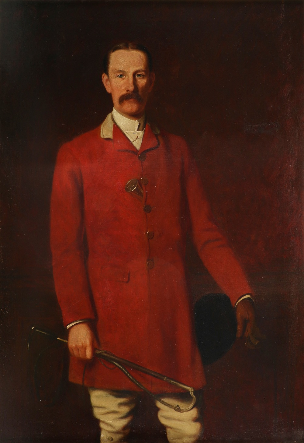 Joseph Sydney Willis Hodges (1828-1900) Portrait of Frederick Vernon Williams, Master of the