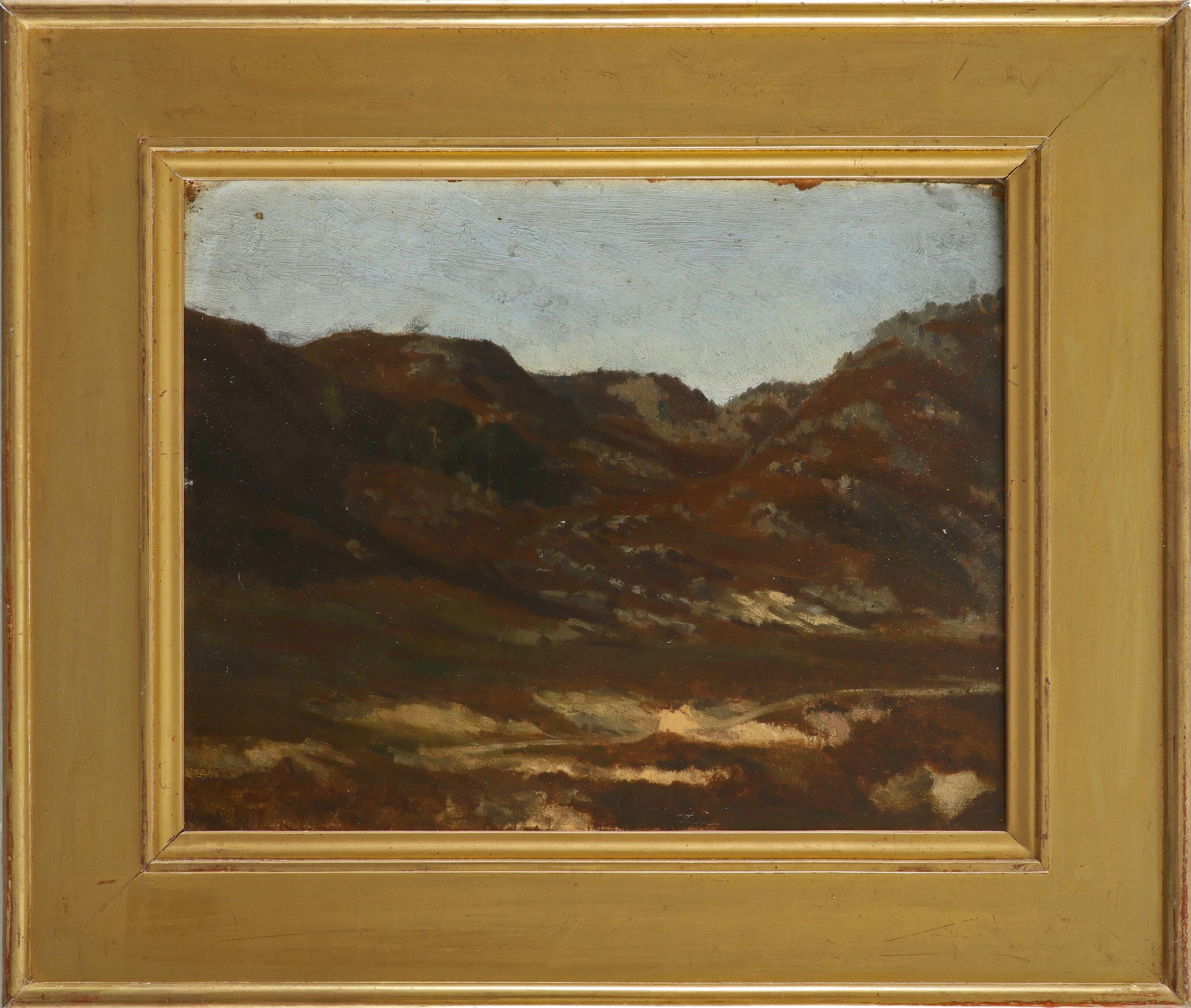 Auguste-Paul-Charles Anastasi (French 1820-1889) Gorges d'Apremont avant les Pins Fontainbleu - Image 2 of 3