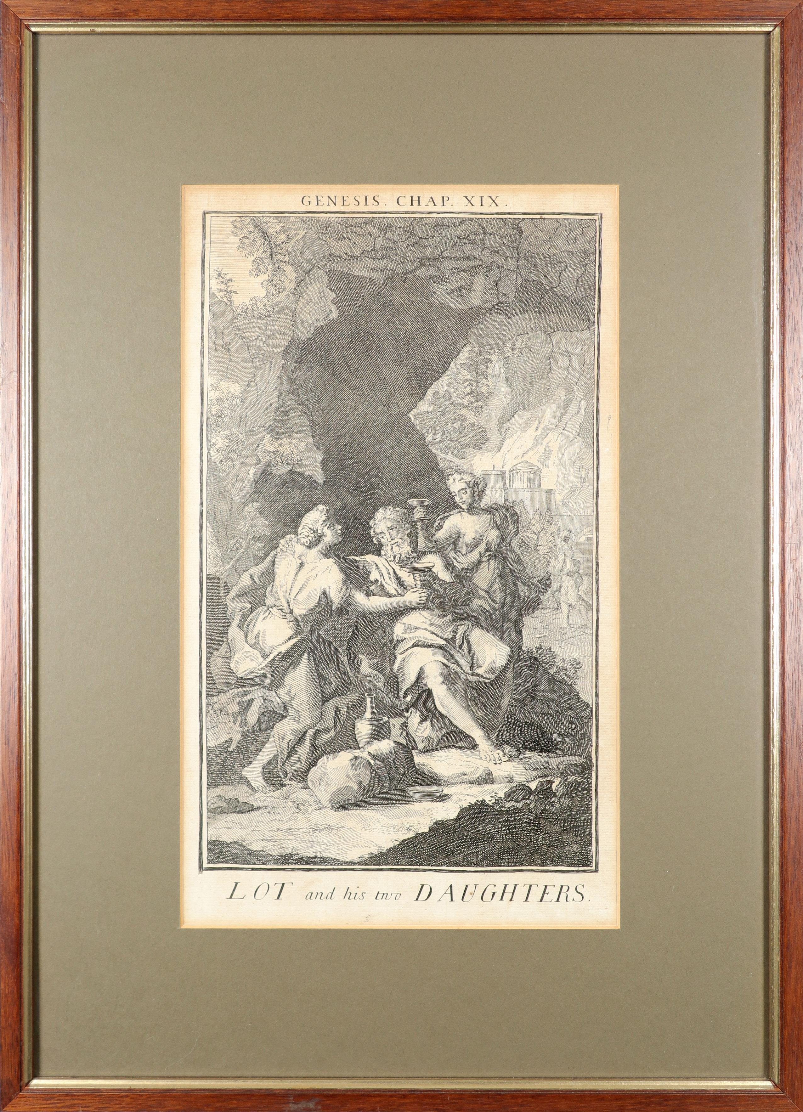 Samuel Smith (18th Century) The Creation; Adam and Eve driven out of Paradise; Cain and Abel; The - Image 23 of 24