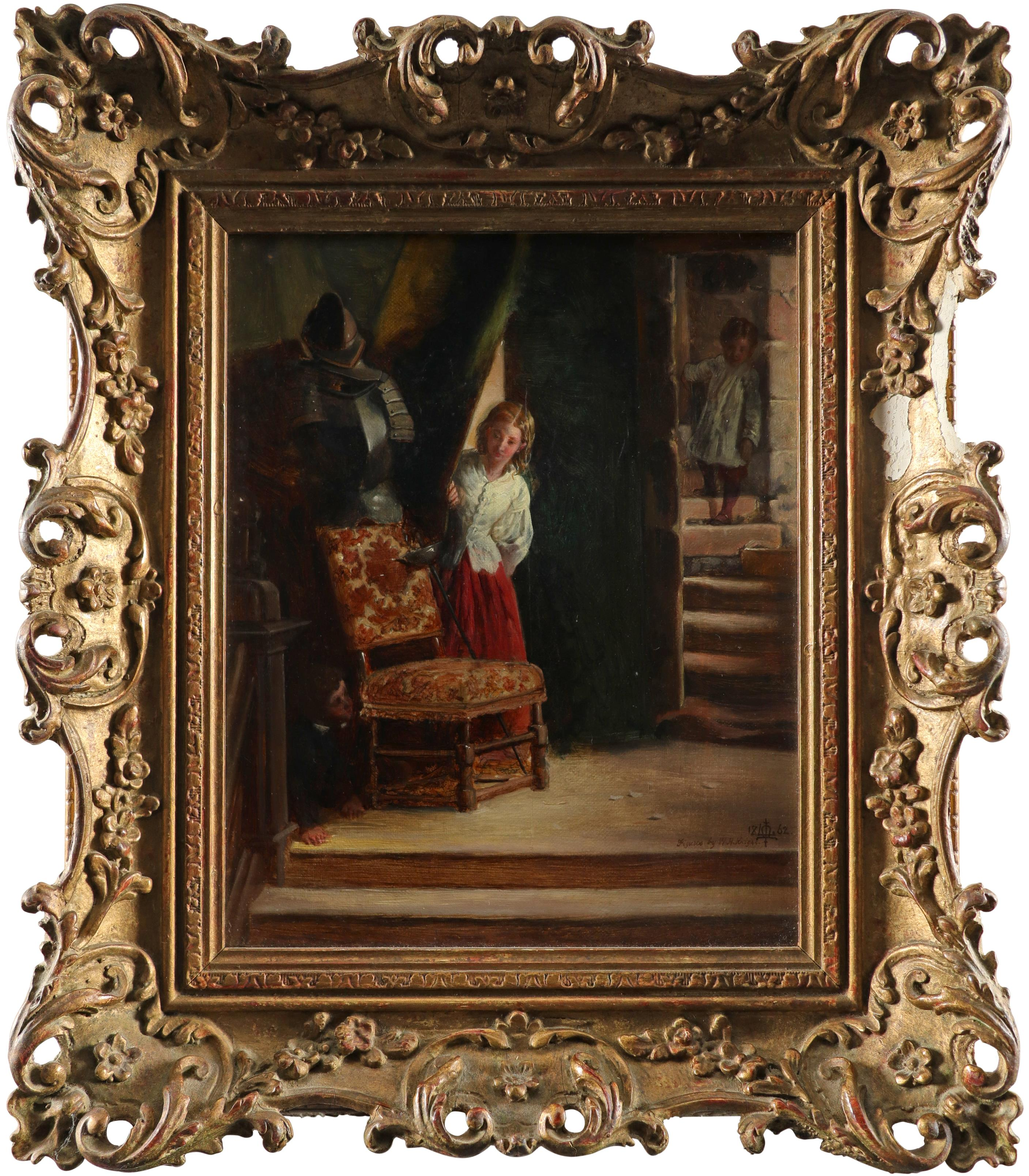 Matthew James Lawless (1837-1864) and William Henry Knight (1823-1863) Bo-Peep - Children playing - Image 2 of 3