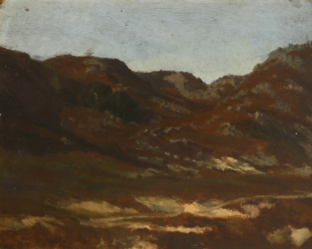 Auguste-Paul-Charles Anastasi (French 1820-1889) Gorges d'Apremont avant les Pins Fontainbleu