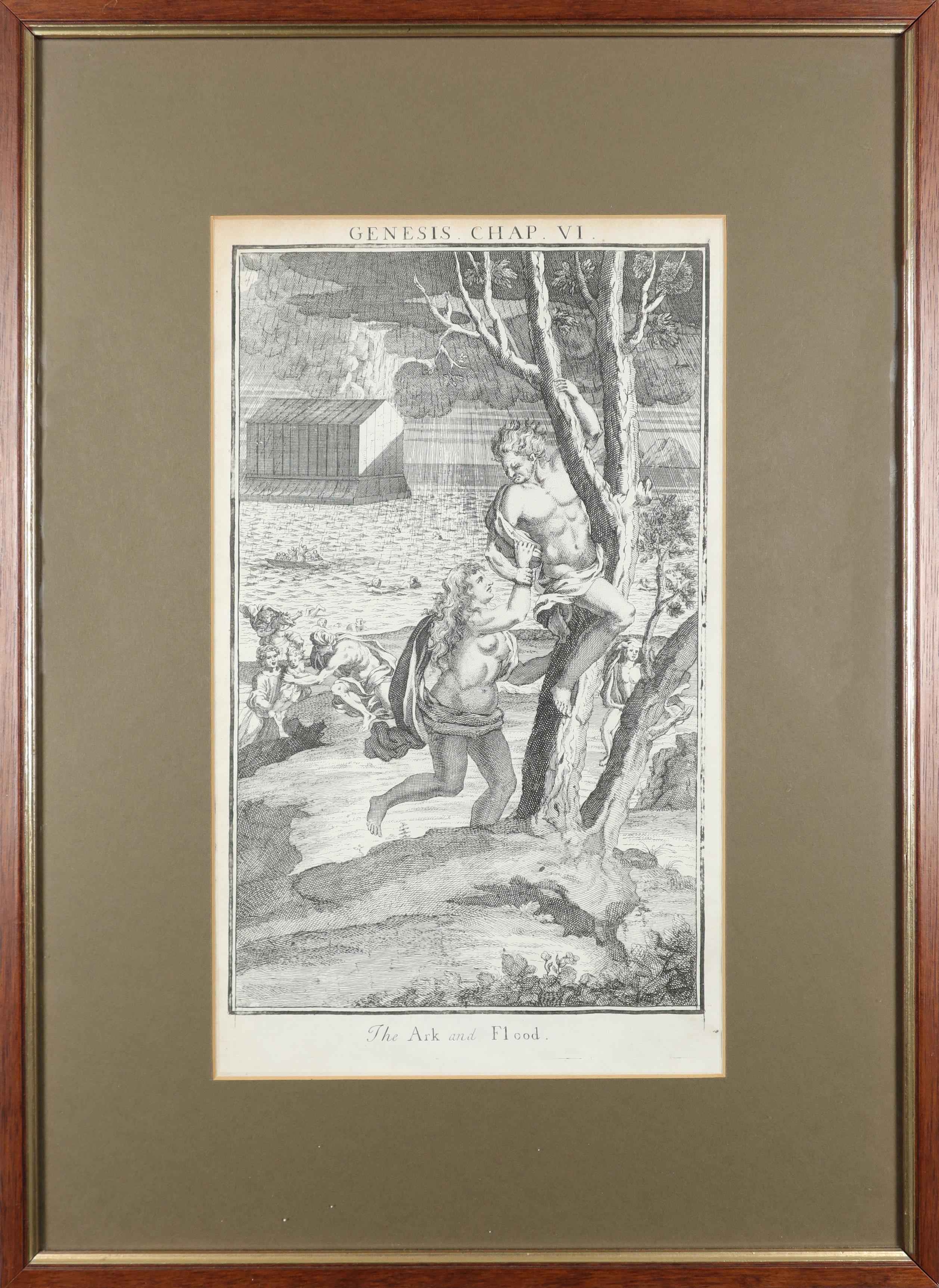 Samuel Smith (18th Century) The Creation; Adam and Eve driven out of Paradise; Cain and Abel; The - Image 11 of 24