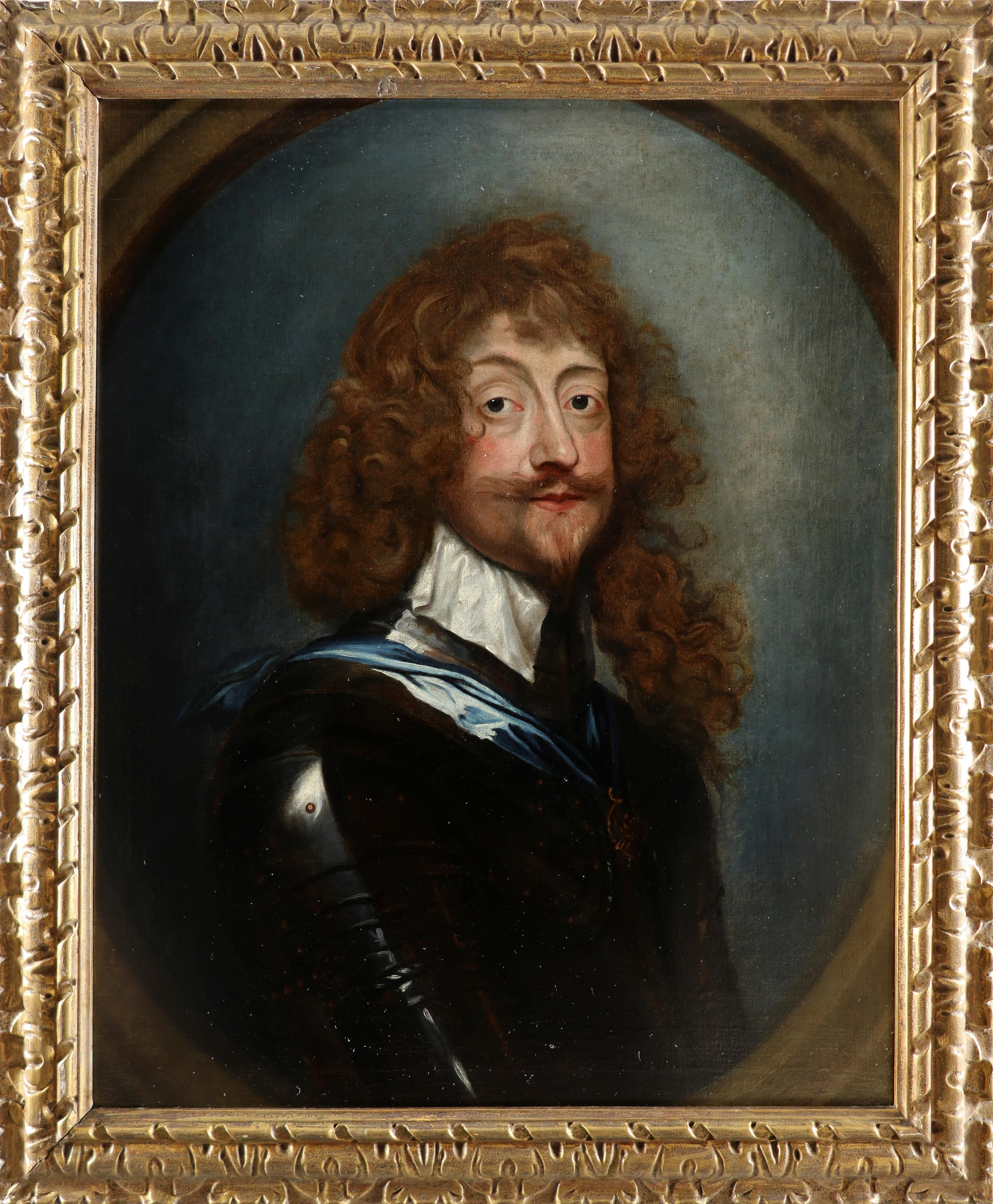 Follower of Sir Anthony van Dyck Portrait of Sir Henry Rich, 1st Earl of Holland (1590-1649), - Image 2 of 3