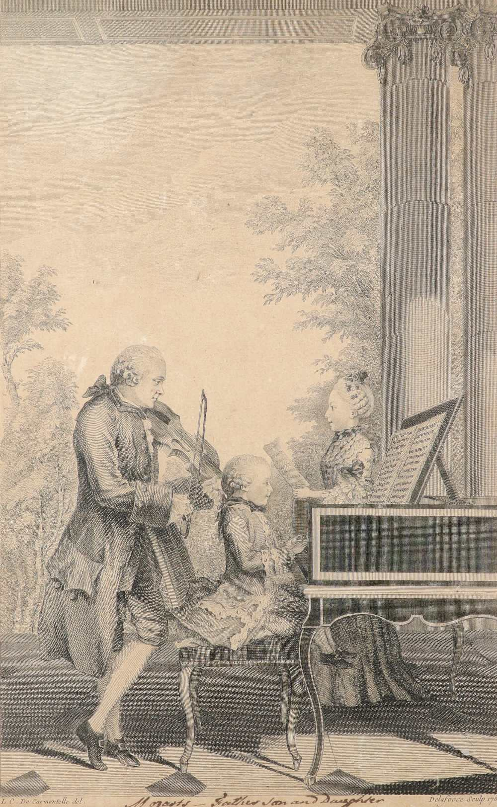English School 1754 The Charming Brute: A Satire on Handel Etching 33.2 x 23.5cm; 13 x 9¼in ( - Image 4 of 18