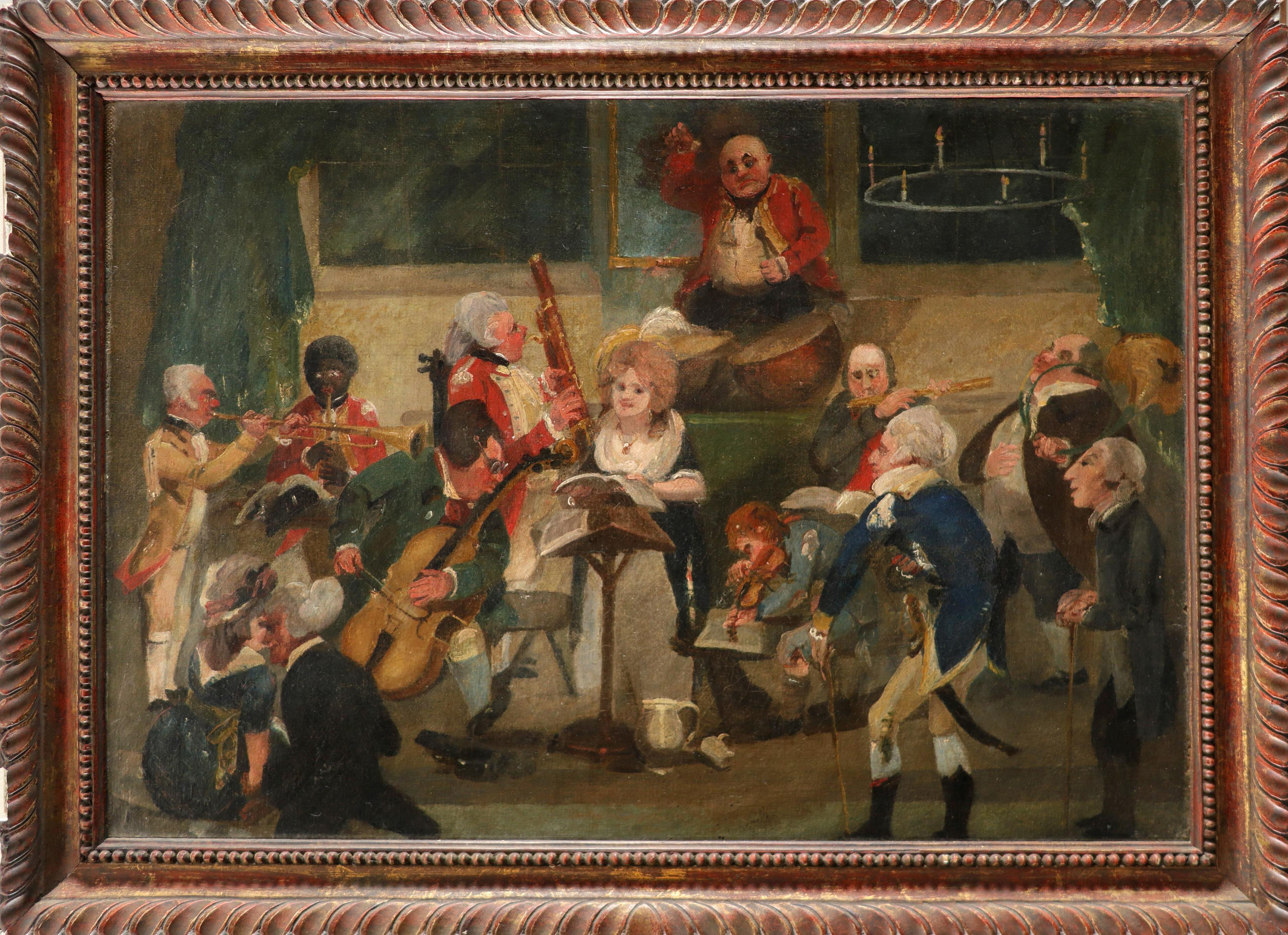 After C. L. Smith The Country Concert Oil on canvas 34.8 x 50cm; 13¾ x 19¾in Provenance: Christie's, - Image 2 of 3