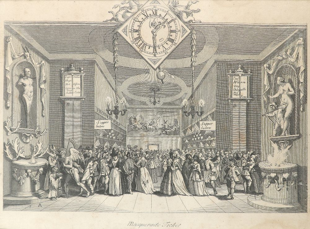 English School 1754 The Charming Brute: A Satire on Handel Etching 33.2 x 23.5cm; 13 x 9¼in ( - Image 13 of 18