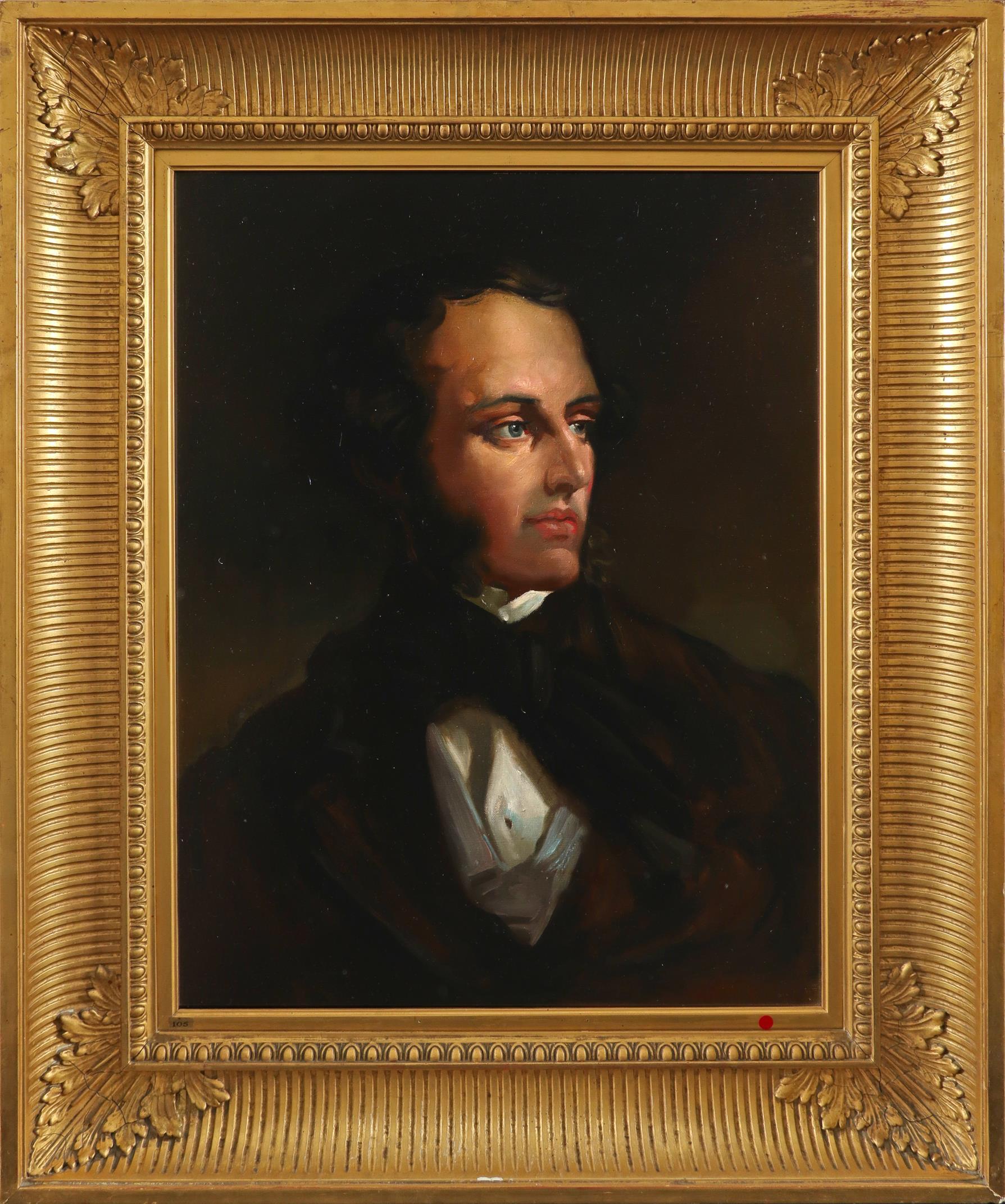 Seán Keating (Irish 1889-1977) after Sir William Orpen KBE, RA, RHA (Irish 1878-1931) Portrait of - Image 2 of 3