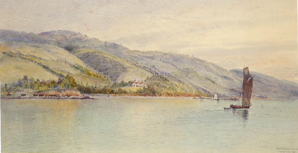 William Matthew Hodgkins (1833-1898) Glen Falloch - evening; Glen Falloch Two, the former signed