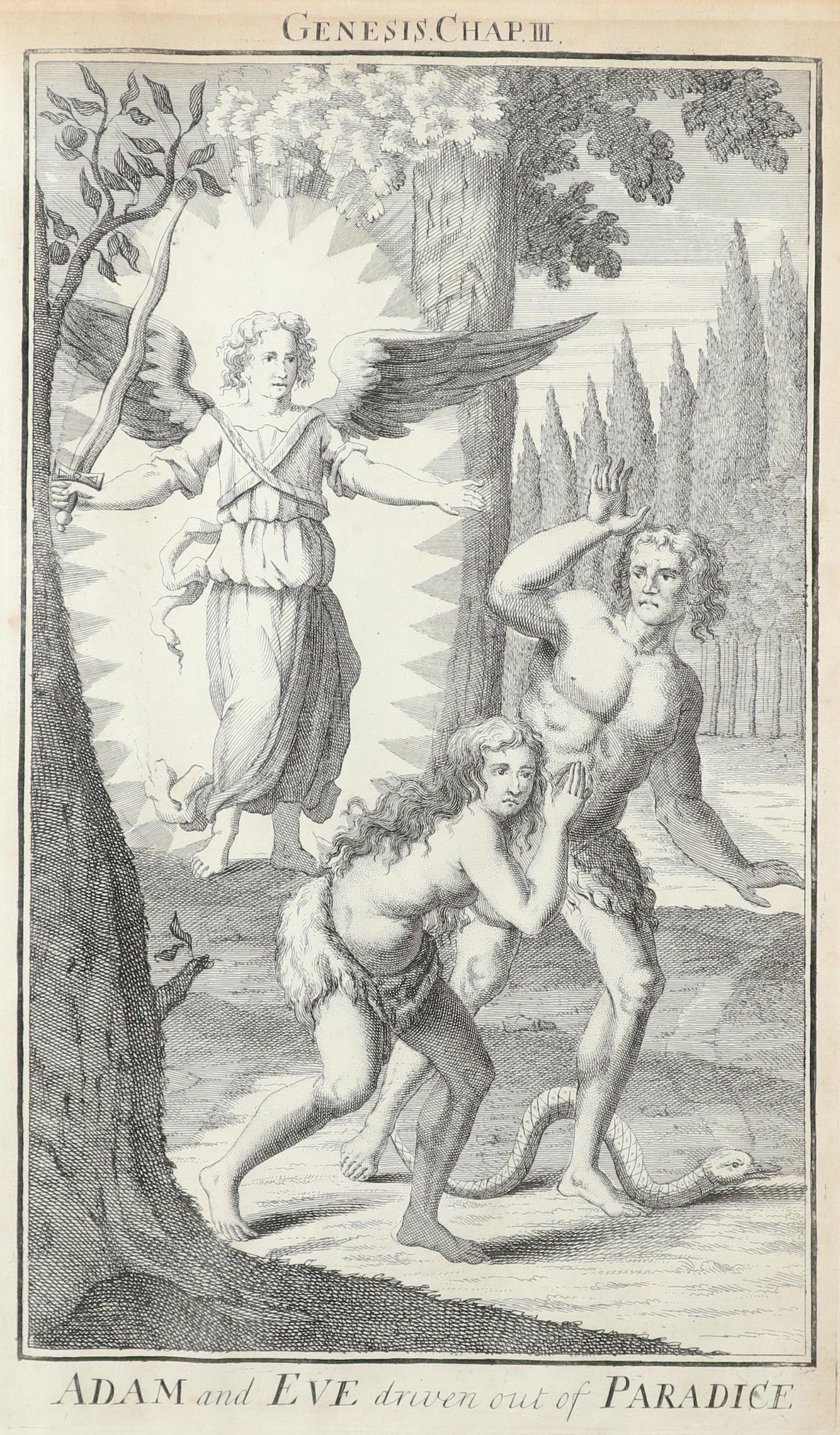 Samuel Smith (18th Century) The Creation; Adam and Eve driven out of Paradise; Cain and Abel; The - Image 4 of 24