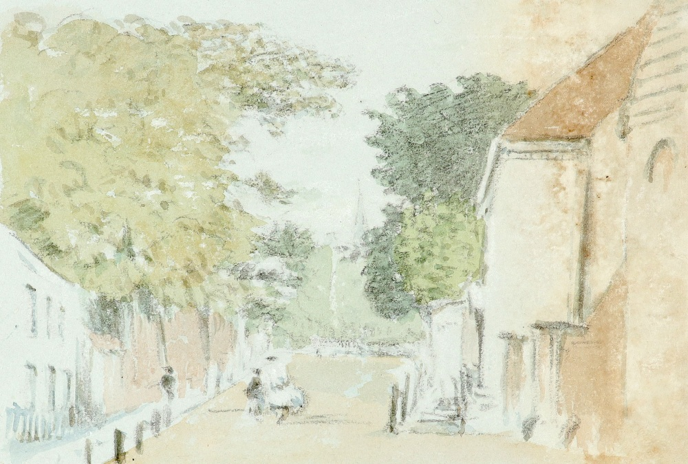 Thomas Clark (act.1827-1858) View of Kensington Gardens in 1839; and further views of London Nine, - Image 7 of 12