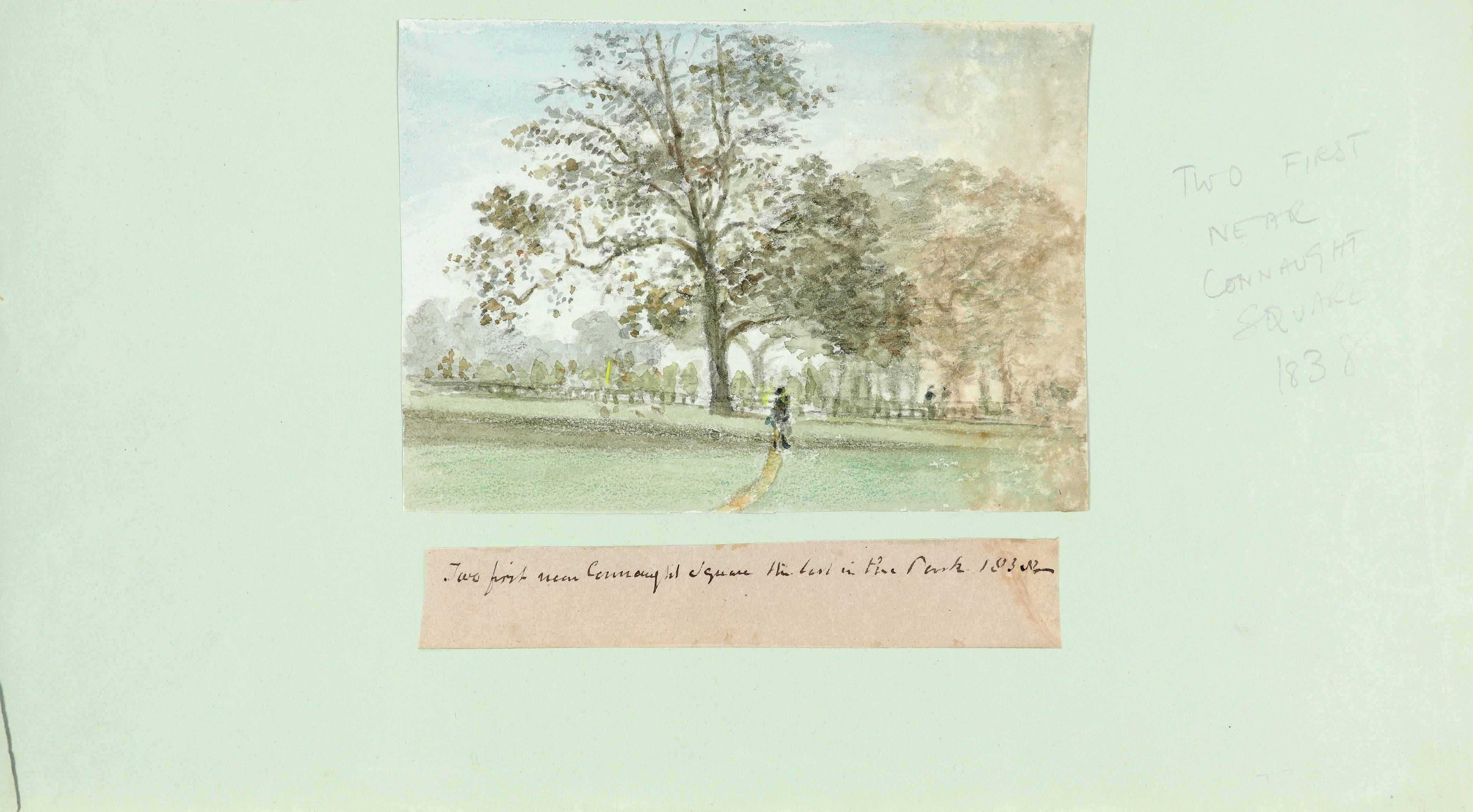Thomas Clark (act.1827-1858) View of Kensington Gardens in 1839; and further views of London Nine, - Image 2 of 12