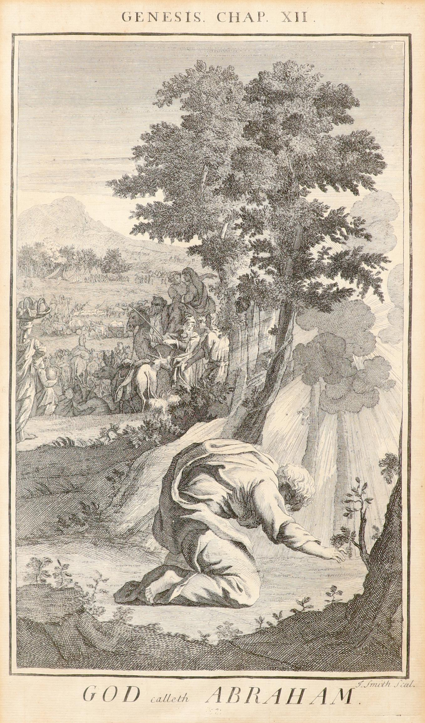 Samuel Smith (18th Century) The Creation; Adam and Eve driven out of Paradise; Cain and Abel; The - Image 19 of 24