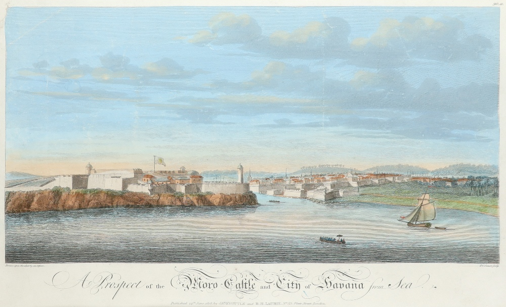 John Carwitham (act. 1723-1741) A South-East View of the City of Boston in North America Engraving - Image 7 of 9