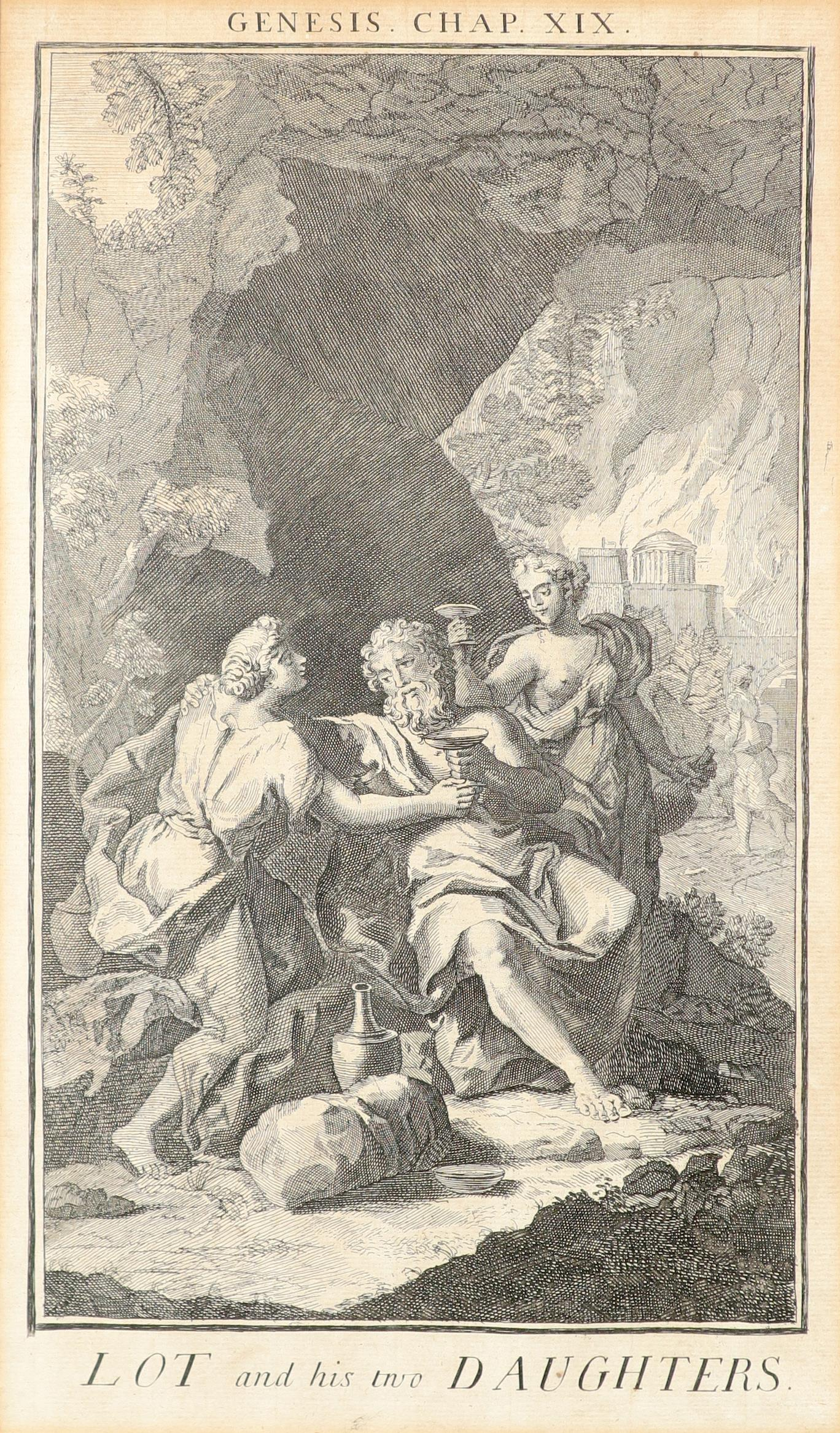 Samuel Smith (18th Century) The Creation; Adam and Eve driven out of Paradise; Cain and Abel; The - Image 22 of 24