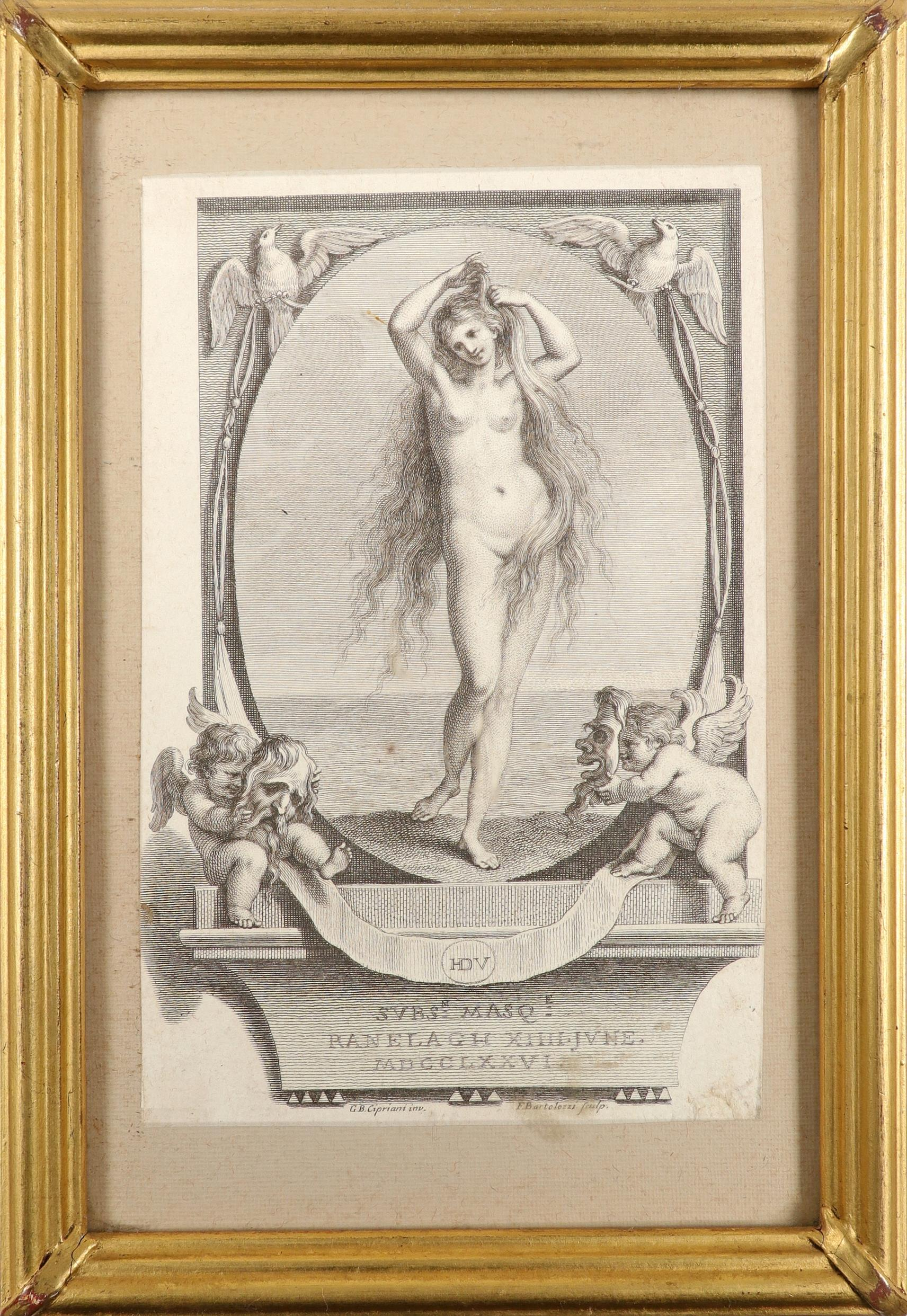 English School 1754 The Charming Brute: A Satire on Handel Etching 33.2 x 23.5cm; 13 x 9¼in ( - Image 11 of 18
