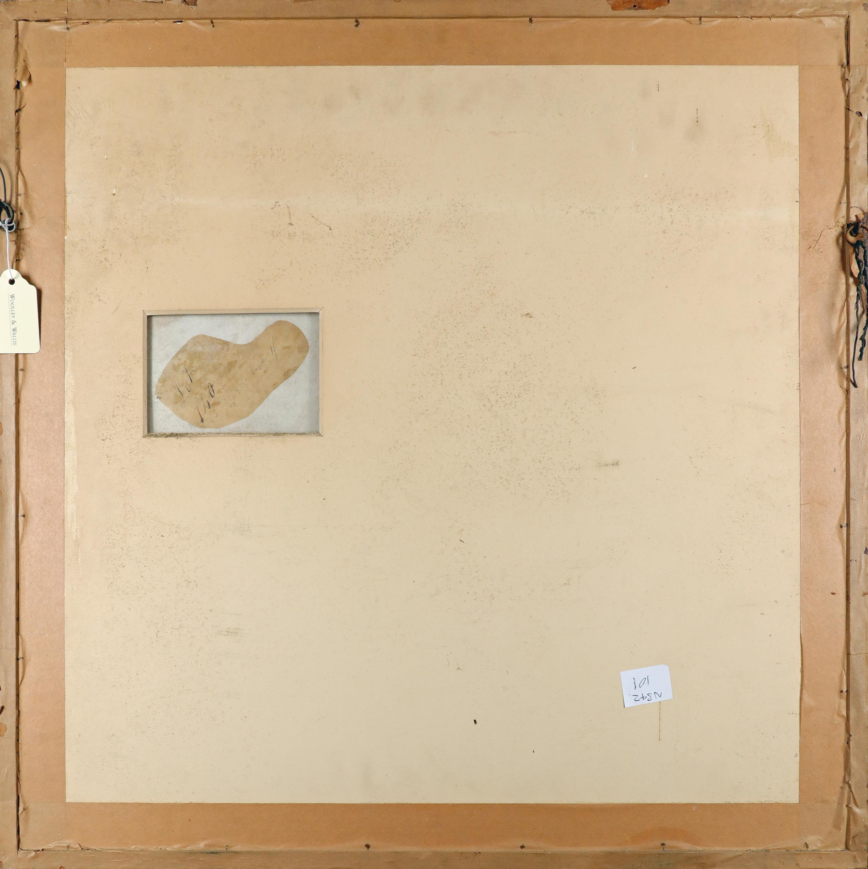 Circle of Jean-Charles Delafosse Ceiling design depicting an assembly of the gods Pencil and wash, - Image 3 of 3