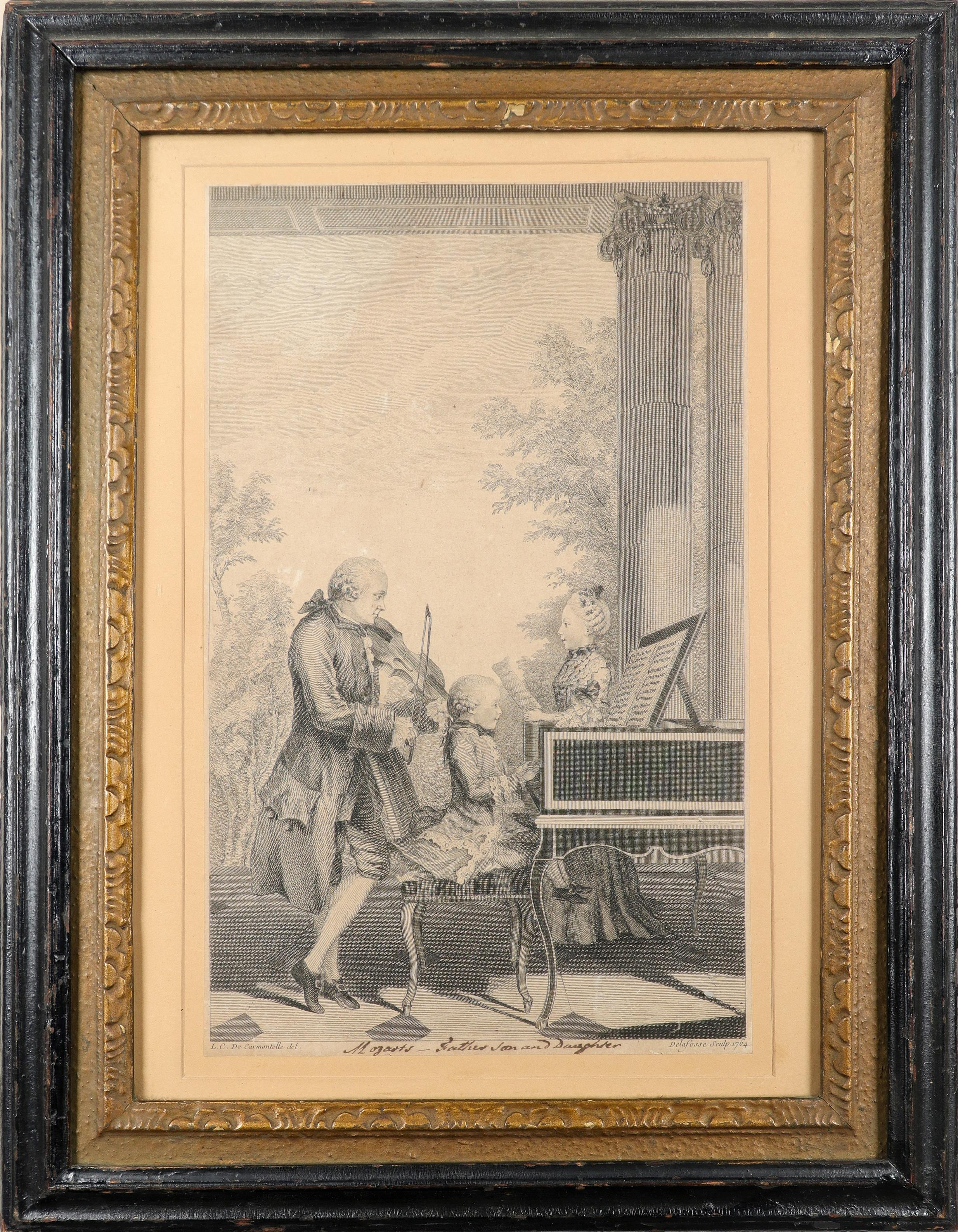 English School 1754 The Charming Brute: A Satire on Handel Etching 33.2 x 23.5cm; 13 x 9¼in ( - Image 5 of 18