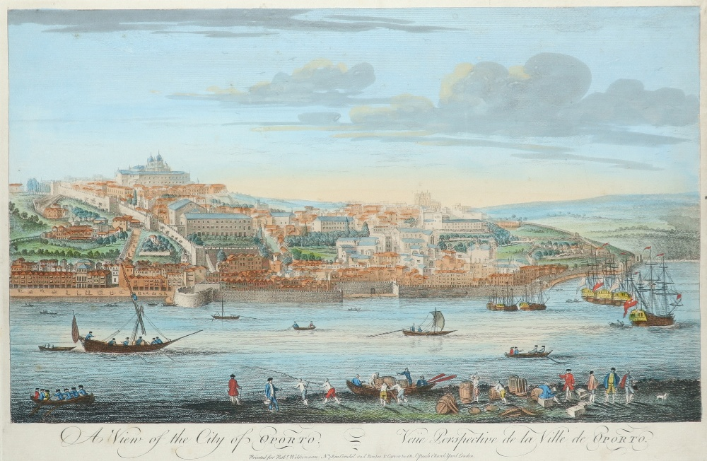 John Carwitham (act. 1723-1741) A South-East View of the City of Boston in North America Engraving - Image 4 of 9