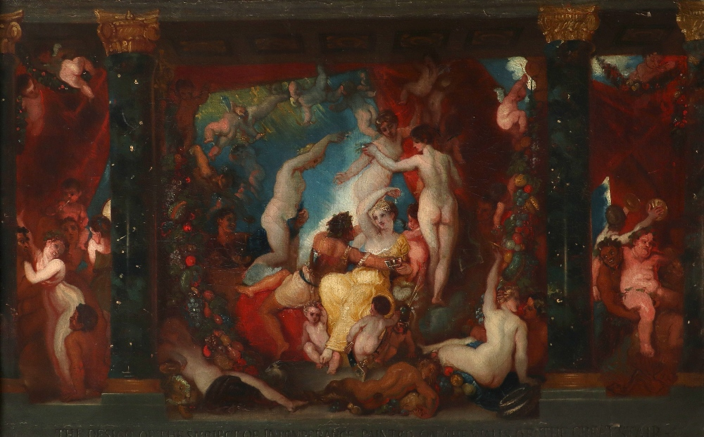 Thomas Stothard RA (1755-1834) Intemperance Inscribed THE DESIGN OF THE SUBJECT OF INTEMPERANCE