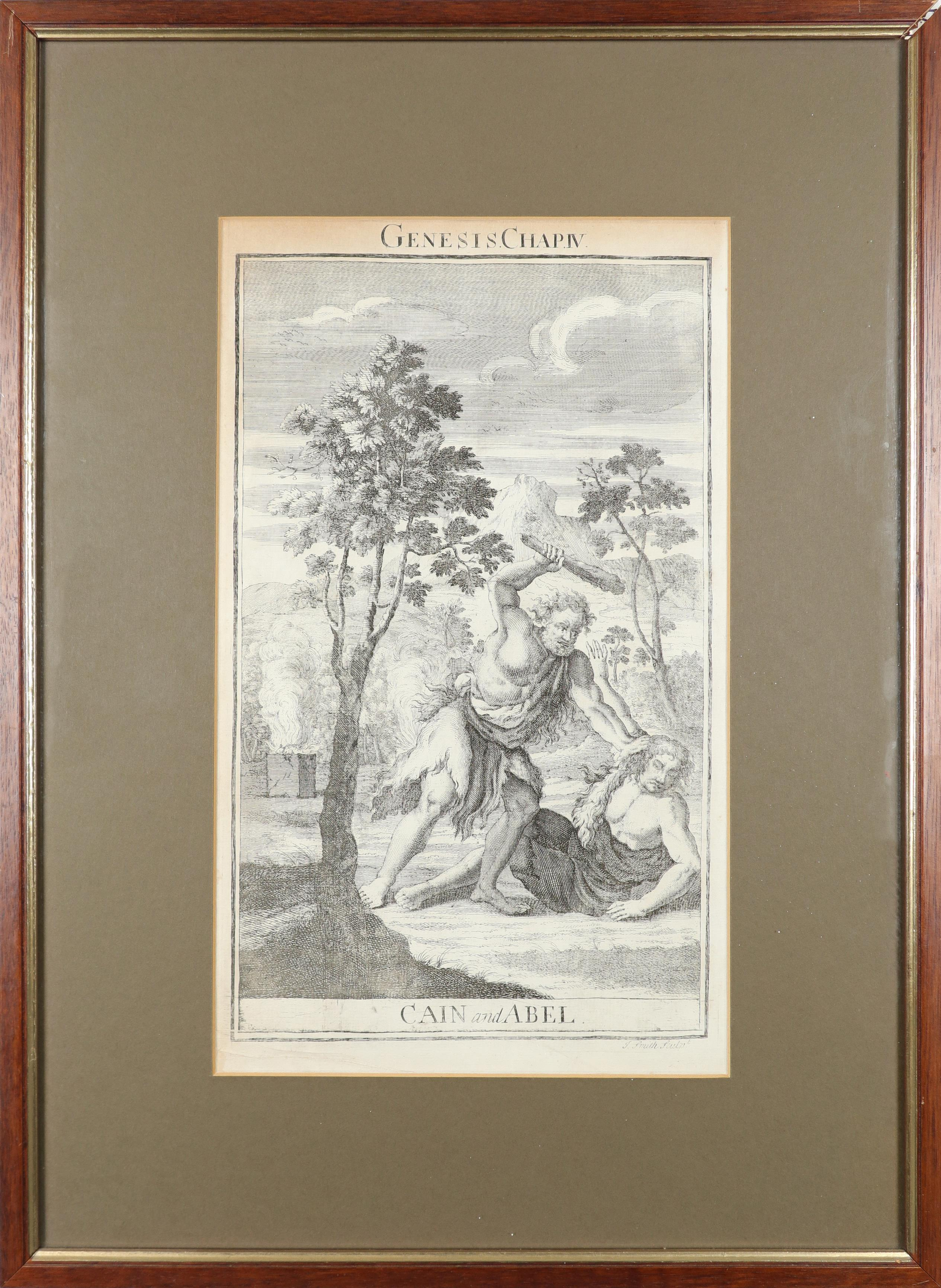 Samuel Smith (18th Century) The Creation; Adam and Eve driven out of Paradise; Cain and Abel; The - Image 8 of 24