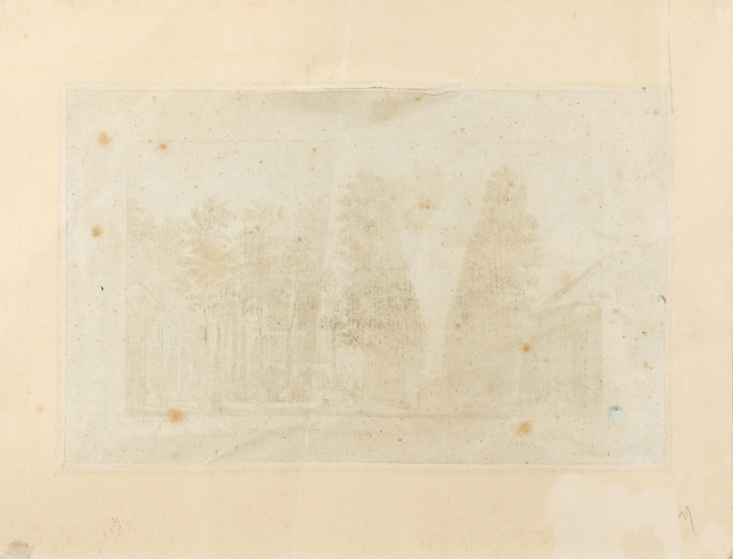 Samuel Wale RA (1721-1786) A view of the entrance of Vauxhall Gardens Pen and ink and grey wash, - Image 6 of 6