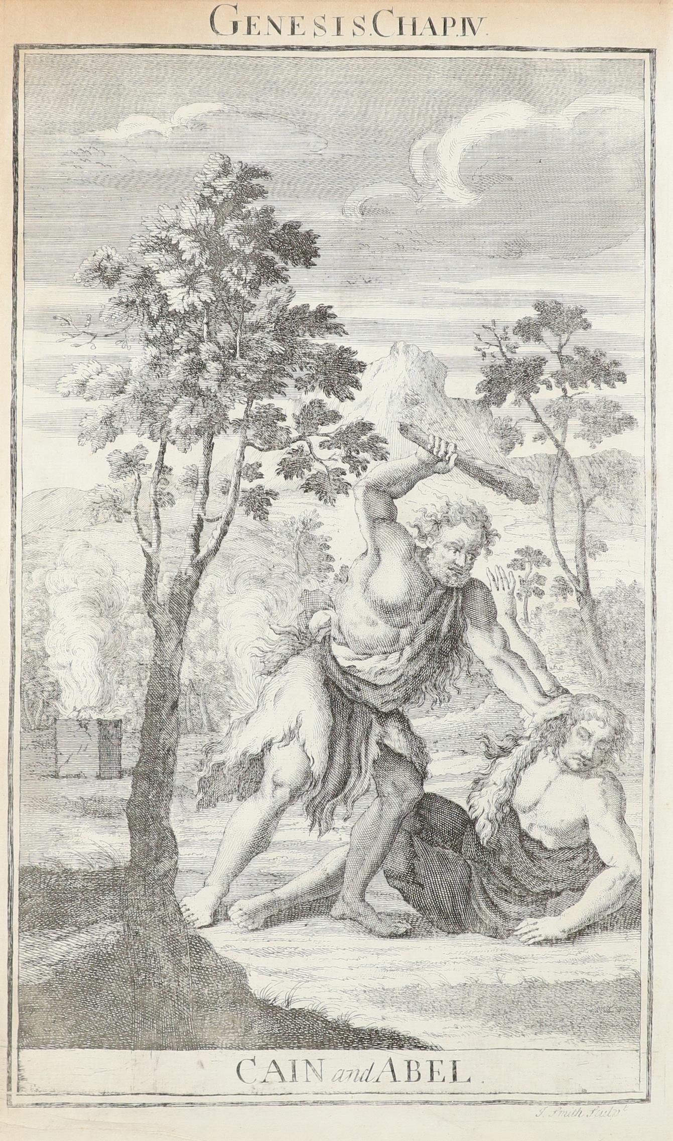 Samuel Smith (18th Century) The Creation; Adam and Eve driven out of Paradise; Cain and Abel; The - Image 7 of 24