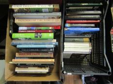 Two boxes containing a collection of good quality books about the countryside and related subjects