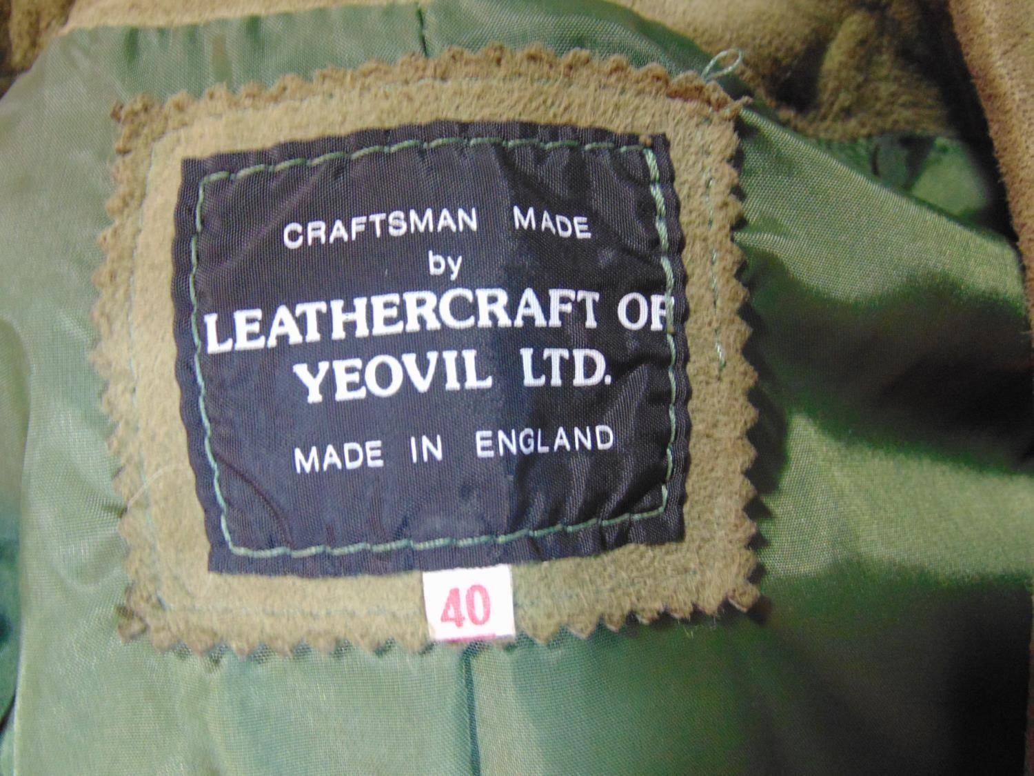 2 vintage ladies jackets including a short jacket by Cousins of Cheltenham in green woollen tweed - Image 6 of 6