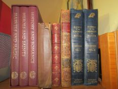 Mixed collection of books to include The History of the Conquest of Mexico by William H Prescott,