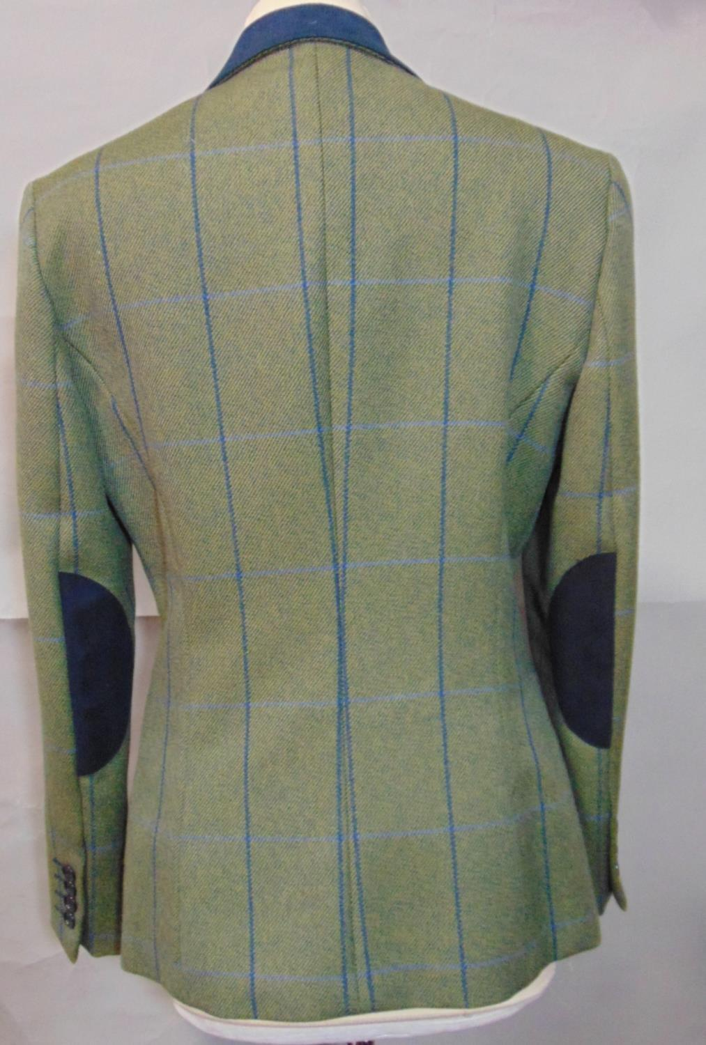 2 vintage ladies jackets including a short jacket by Cousins of Cheltenham in green woollen tweed - Image 4 of 6