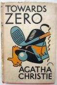 Christie, Agatha, Towards Zero, published for The Crime Club, London 1944, with dust jacket (