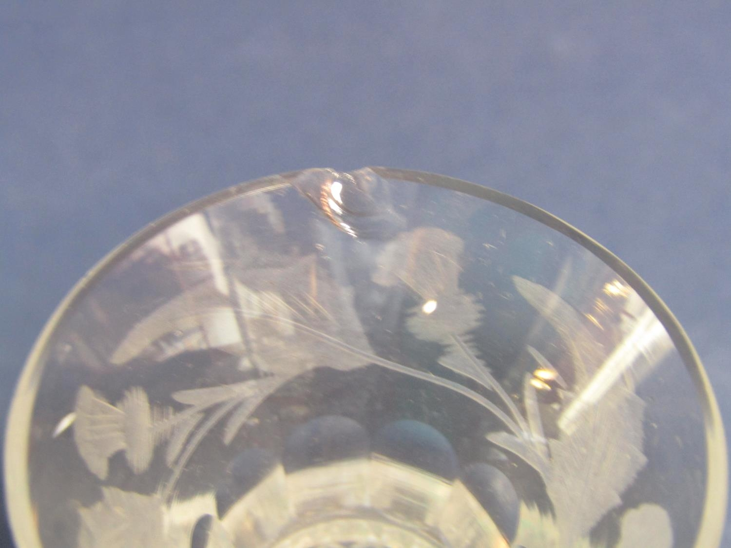 Two Waterford Crystal glass photograph frames, Stewart Crystal pickle pot and cover, two Killarney - Image 3 of 3