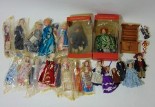 Collection of dolls including figures by Peggy Nesbit, Dolls House Emporium, etc together with a