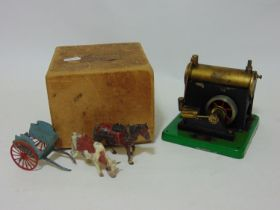'Standard' steam engine No 1540 live steam model by SEL (Signalling Equipment Ltd) C1946-1965 with