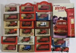 Collection of Lledo model vans relating to The Post Office including 'Sixties Collection' box set,