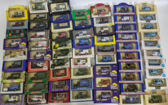 Collection of approx 70 boxed model vans advertising various businesses and brands including 9 for