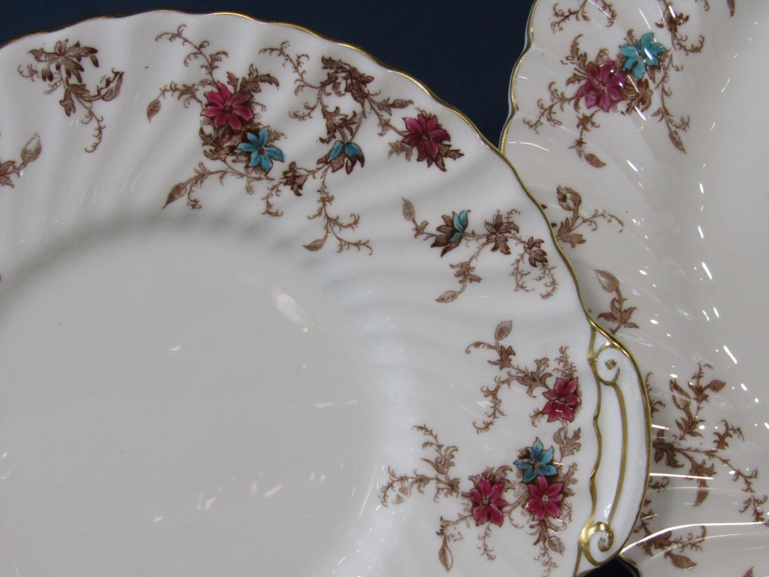 An extensive collection of Minton Ancestral pattern wares including a two handled tureen and - Bild 3 aus 3