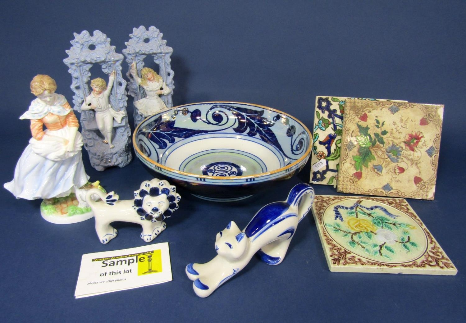 A set of four Royal Worcester limited edition figures from the Old Country Ways series, (one af)