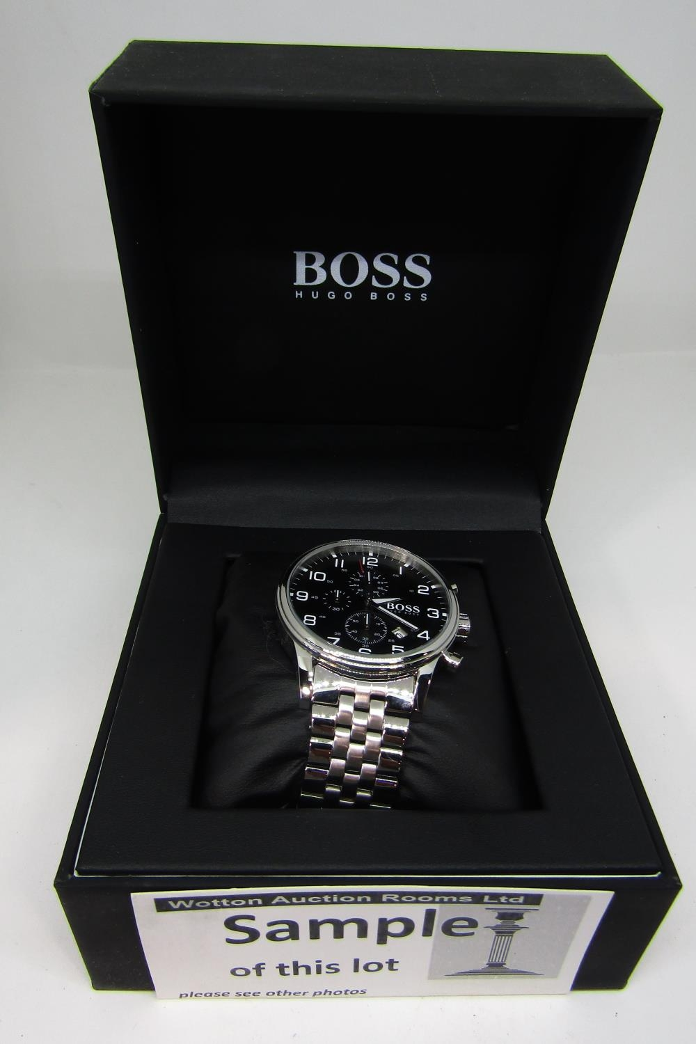 Three boxed fashion watches to include a Seiko kinetic 100m, with box and guarantee certificate, - Image 2 of 4