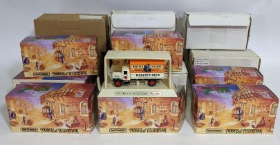 17 Matchbox model vehicles 'Great Beers of the World' Models of Yesteryear, some with original