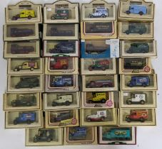 Approx 30 boxed model vehicles by Lledo from Promotional and Days Gone ranges, including steam