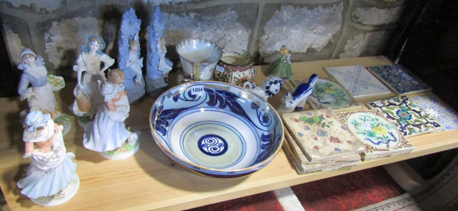 A set of four Royal Worcester limited edition figures from the Old Country Ways series, (one af) - Bild 2 aus 2