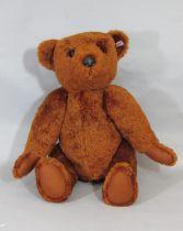 Very large heavy Steiff 1902 replica teddy bear PB55 2008 limited edition, 318/1000, height 63cm, in