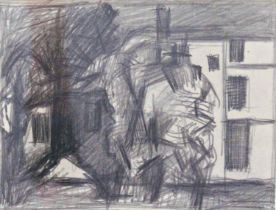Keith Vaughan (1912-1977) - 'Houses. St Johns Wood', unsigned, inscribed Anthony Hepworth Fine Art