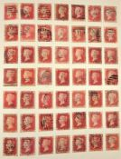 A large collection of stamps, contained in five albums and some loose examples, including a broad