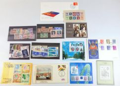 A Collectors group of British & Commonwealth stamps, including some high face value, first day