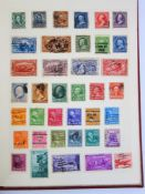 Collection of British stamps, album with 1960's stamps, over 100 first day covers, mainly Isle of