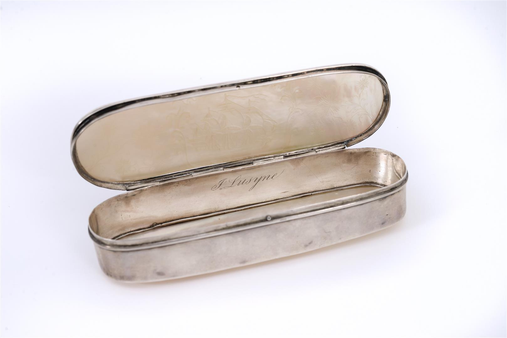 Studs silver-plated Ros\u00e9w\u00f6lkchen ros\u00e9 mother-of-pearl