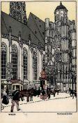 Wiener Werkstätte Nr. 7b Janke, Urban Wien Stefanskirche 1911 I-II (RS fleckig)