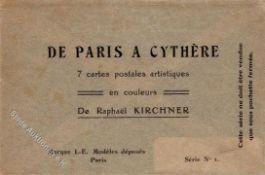 Kirchner, R. De Paris a Cythere original Umschlag I-II